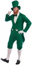 Mens Leprechaun Halloween Costume up to 42