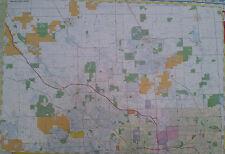 Oakland County North 27 x 39 Laminated Wall Map (G)