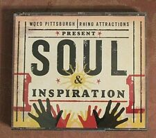 WQED - Pittsburgh - 2-CD - Soul & Inspiration - Rhino Records - 50 Tracks - R&B