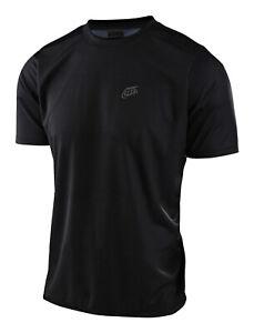 Troy Lee Designs MTB Men's Flowline Jersey SS Solid - Black