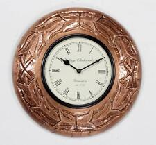 Wall Clock Antique Vintage Clock Made By Wooden and Copper Form India - 47