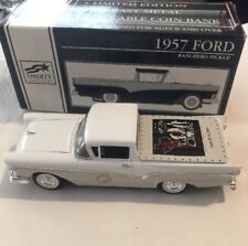 Vintage 1957 Ford Ranchero Pickup Diecast Classic Car Limited Edition