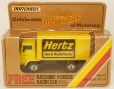 Matchbox Dodge Commando COE Delivery Truck Hertz Car Rental MIB 57 MB 1:77 Scale