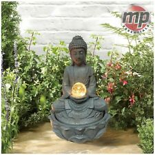 Gardenwize Outdoor & Jardin Solaire Bouddha eau de fontaine avec lumière boule
