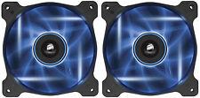2 x Corsair Air Series AF120 LED Blue Quiet Edition High Airflow 120mm Case Fans