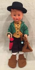 "German Hummel Goebel ""Merry Wanderer"" Vinyl Doll W/ Clothes, Series 1700...Look"