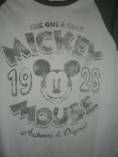 X-Small/Small Mickey Mouse Disney Pa 00004000 rks ~ One & Only Tee Shirt Nwt