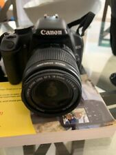 Canon EOS 450D DSLR Camera w/ Cannon 18-55mm zense with extra Lens & Bag