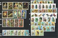 Hungary 73 Different Thematic Stamps (In 10 Diff. Sets) All Mint Unhinged