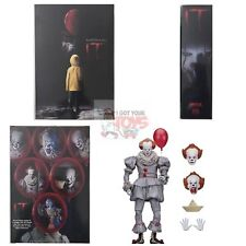 "ULTIMATE PENNYWISE Neca STEPHEN KING (2017 IT MOVIE) 2018 7"" Inch Action FIGURE"