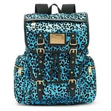Juicy Couture Blue Leopard Sequined Backpack