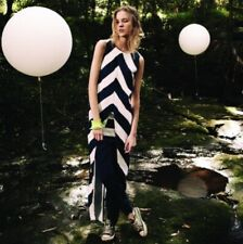Sass & Bide Size 12 New+Tag $350 After Much Deliberation Collection Navy White
