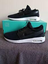 Nike SB Stefan Janoski Max 2 PRM - UK Size 12 - BQ3377 001 - Black/White