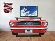 65 Classic Mustang TV Stand /Console table MAN CAVE, OFFICE, Car dealership