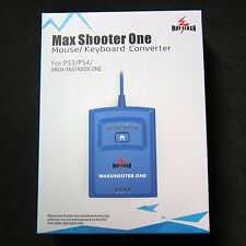 New Max Shooter One Keyboard Mouse Converter Adapter for to PS3 PS4 XBOX 360 ONE