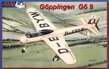 Goppingen Go-9 - WW II avión alemán de investigación 1/72 LMA
