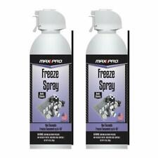 MAX Professional 7777 Blow Off Freeze Spray Electronic Component Cooler - 2 Pack