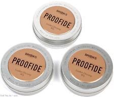 Three (3) Pack Brooks Proofide 40g Leather Bike Saddle Seat Dressing Cream Tins
