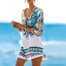 Ladies Beach dress Cover up Kaftan Sarong Summer wear Swimwear Bikini Summer