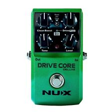 Nux Analog Overdrive Pedal - DRIVE CORE  DELUXE