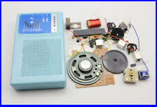 DIY Kits Superheterodyne Radio Receiver 6 Transistor + sch + case w/ Speaker