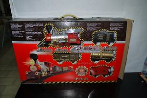 BATTERY OPERATED TOY CLASSIC Train HUGE BOX WORKS