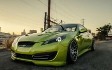 "STANCED HYUNDAI GENESIS COUPE A1 CANVAS PRINT POSTER 33.1""x21.4"""