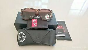 Ray-Ban Justin RB4165 Sunglasses 865/13 brown lenses/Multicolor frame Pre-owned