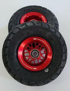 Billet Wheels w/ Tires for GoPed GSR GTR Bigfoot Red RAD Pocket Mini Bike
