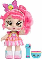 Kids Snack Time Friends Donatina Girls Best Toy Gift Interactive Pink Hair Doll