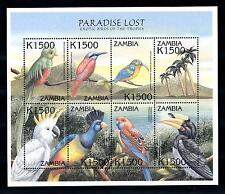 [41883] Zambia 2000 Birds Vögel Oiseaux Ucelli   MNH Sheet