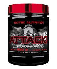 Scitec Nutrition Attack 2.0 320g Pre Workout Creatina Arginina AKG Glutammina Ciliegia