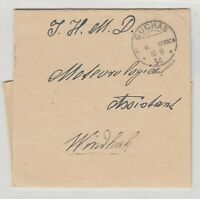 South West Africa 1934 Windhuk Rainfall Report Cover CDS Postal History J5272