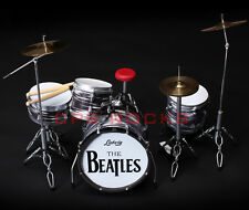 Beatles Classic RINGO STARR Drum Set Miniature Replica - Free Shipping within US