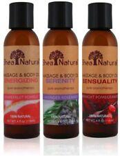 Massage And Body Oil, Shea Natural, 4 oz Sensual Midnight Pomegranate