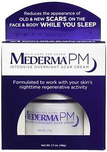 Mederma PM Intensive Overnight Scar Cream Works with Skin's Nighttime 1.7 oz USA