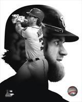 "BRYCE HARPER ""PROfile"" Washington Nationals LICENSED un-signed poster 8x10 photo"