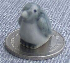 1:12 Scale Ceramic Penguin Dolls House Miniature Animal Ornament Accessory E