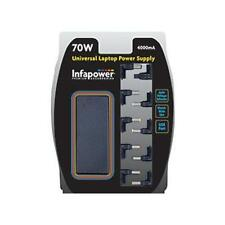 Infapower P005 70w Emergency Universal Mains Laptop Power Supply USB Output New