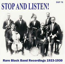 V/A - Stop And Listen! Rare Black Band Recordings 1923-30 CD SEALED NEW FROG UK