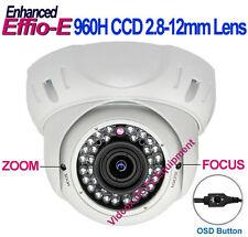 """1/3"""" SONY 960H Effio-E 700TVL 2.8-12mm OUTDOOR Night Vision IR CCTV DOME CAMERA"""