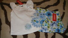 NWT NEW GYMBOREE MALIBU COWGIRL 3 4 TOP SKIRT LOT