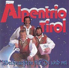 ALPENTRIO TIROL : WEIHNACHTEN FÜR DI UND MI / CD - TOP-ZUSTAND