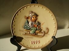 VINTAGE HUMMEL Fifth 5th Edition Annual Plate 1975 West Germany HUM 268 1973