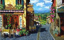 Viktor Shvaiko SUMMER IN TUSCANY Giclee on Canvas 30X48 Enhanced