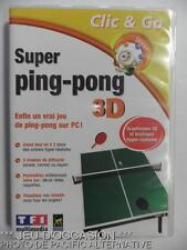 Jeu SUPER PING PONG 3D pour PC francais game sport arcade tennis de table anuman