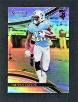 2017 Select Silver Refractor Field Level #276 Taywan Taylor