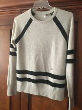 Equipment Women's All Cashmere Striped Pullover Sweater Small