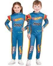 Hot Wheels Matt Mingay Racing Suit Kids Costume Size 4-6