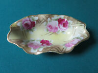 Nippon relish dish, beautiful decorations in gold and roses[4*12]